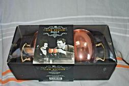 NIB Copper Finish Moscow Mule Mug Cup Glass 2-Pack 20oz