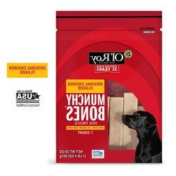 Ol' Roy Munchy Bones Dog Treats, Original Chicken Flavor, 2