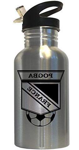 Paul Pogba  Soccer Stainless Steel Water Bottle Straw Top