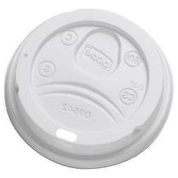 Dixie PerfecTouch 10-20 oz Hot Cup Plastic Lid White, 50-cou