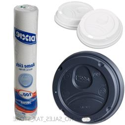 Dixie PerfecTouch Domed Hot Cup Plastic Lids, Fits 8 - 20 oz