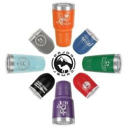 Personalized Engraved Tumbler Mugs 20oz. - 14 different Colo