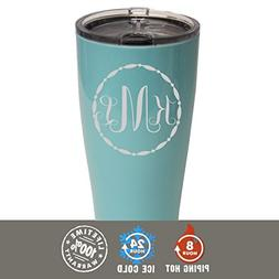 Personalized SIC Cup Tumbler - Engraved 20 oz Powder Coated