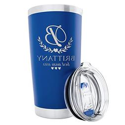 Personalized 20 oz. Tumblers Custom Your Name and Color on S