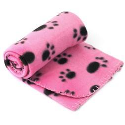 Yonisun Pet Dog Cat Puppy Kitten Soft Blanket Doggy Warm Bed