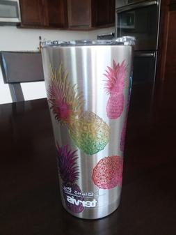 TERVIS PINEAPPLE SIC Edge Stainless Steel 20 oz Tumbler with