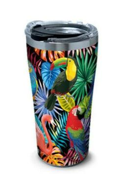 Pink Flamingo Tervis Tumbler 20Oz Stainless Steel Tropical B