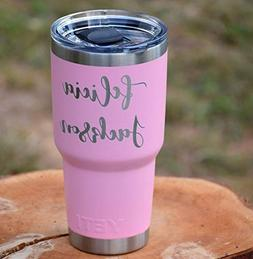 NEW PINK YETI LIMITED ADDITION - Personalized Yeti Tumbler -