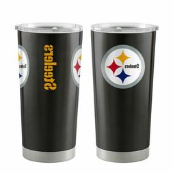 Pittsburgh Steelers 20oz Ultra Black Tumbler NFL Boelter Bra