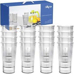 Plastic Cup Tumblers Drinkware Glasses - Acrylic Tumbler Set