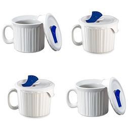 CorningWare Pop-Ins 20-ounce Mug w/ Blue Vented Plastic Cove