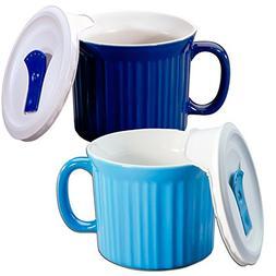 Corningware 20-oz Pop-ins Mug Set Includes 2 Mugs with Vente