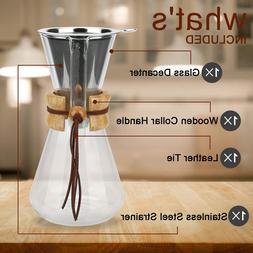 Pour over Coffee Maker, <font><b>20</b></font> <font><b>Oz</