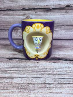 Disney Princess Belle 360 Rotating Chipped Cup 20oz Coffee M