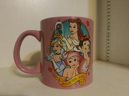 Disney Princess Loyal And Royal 20 oz Coffee Mug Cup Ceramic