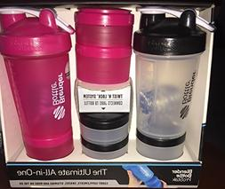 Blender Bottle and ProStak Ultimate All-In-One System, 2 Pac