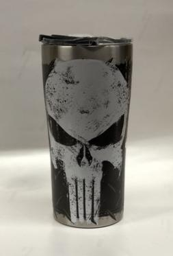 punisher 18 8 stainless steel tumbler