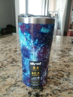 TERVIS PURPLE BLUE GALAXY SIC Edge Stainless Steel 20 oz Tum