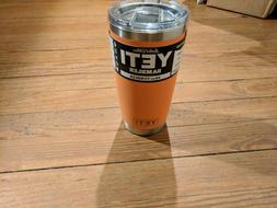 rambler 20 oz coral tumbler limited edition