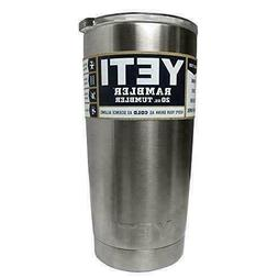 YETI RAMBLER 20 OZ TUMBLER - Mug Slider Lid Included fast sh