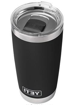 YETI Rambler 20 oz Tumbler, Stainless Steel, Vacuum Insulate