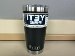 YETI Rambler 20 oz Vacuum Insulated Tumbler Stainless Steel