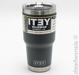 Yeti Rambler 20oz Tumbler Cup With Magslider Lid Charcoal YR