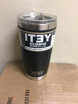 Yeti Rambler 20oz Tumbler Cup With Magslider Lid Black Free
