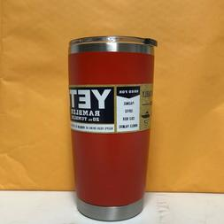 rambler 20oz tumbler limited edition dark orange