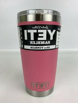 rambler 20oz tumbler limited edition pink color