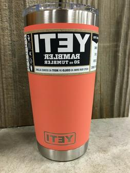 YETI Rambler 20oz Tumbler with Magslider Lid - Coral - 21070