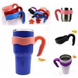 Rambler Tumbler Cup Holder Plastic Mugs Handle For Travel Ou