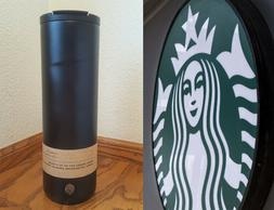 Rare 20 oz Starbucks Stainless Steel Travel Tumbler - Matte