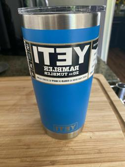 RARE NEW AUTHENTIC 20 Oz. YETI® RAMBLER W/ REGULAR LID TAHO