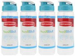 Rubbermaid Refill, Reuse 20-ounce Chug Bottle, 1 Pack of 4 B