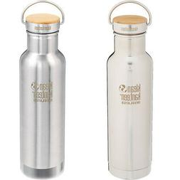 Klean Kanteen Reflect 20 oz. Insulated Bottle with Bamboo Lo