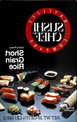 Sushi Chef Sushi Rice, Premium CS=6/20Z