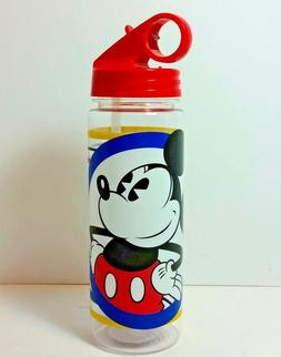 Disney's Mickey Mouse Circle and Stripes Tritan Water Bottle