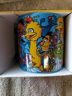 Sesame Street Friends 20 oz. Sculpted Ceramic Mug.