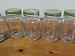 SET OF 20 Ball Glass Mini Storage 2 oz. Mason Jars OLE' SMOK