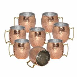 SET OF 16 HAMMERED 20 OUNCE MOSCOW MULE MUGS COPPER BRAND NE