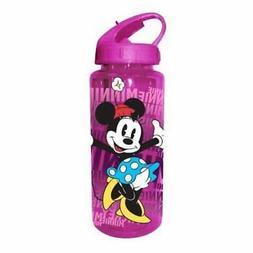 Silver Buffalo DL0264 Disney Minnie BPA-Free Tritan Water Bo