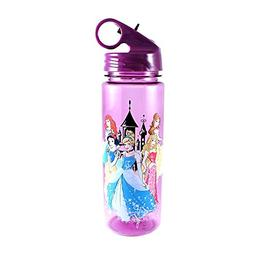 Silver Buffalo DP0164 Disney Princesses Tritan Water Bottle,