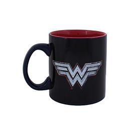 Silver Buffalo WW8034HB DC Comics Wonder Woman Logo with Cha