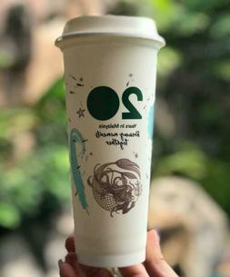 Starbucks Siren Mermaid Reusable Plastic Cold Hot Cup Tumble