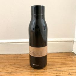 Starbucks Sleek Black Flask Stainless Steel Water Bottle Tum