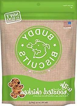 Buddy Biscuits Soft & Chewy Dog Treats With All Natural Roas