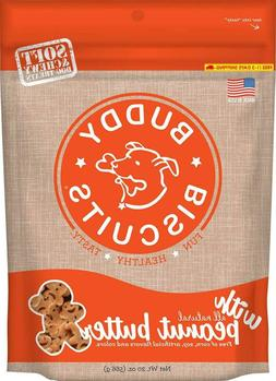 Buddy Biscuits Soft & Chewy Dog Treats With All Natural Pean