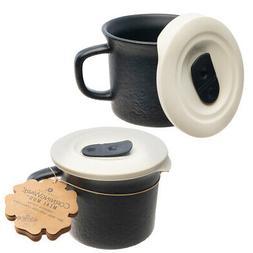 CorningWare (2 Pack 20oz Soup Mug with Lid Coffee Travel Mug