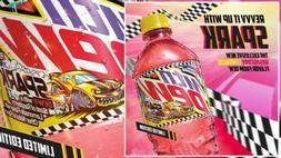 Mountain Dew Spark 20oz bottles. Limited Raspberry Lemonade